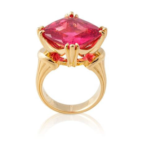 square tourmaline ring rings jewelry fairchild co