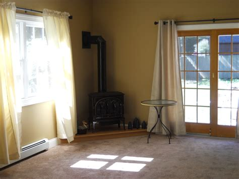corner of the room corner wood burning stove living room contemporary with