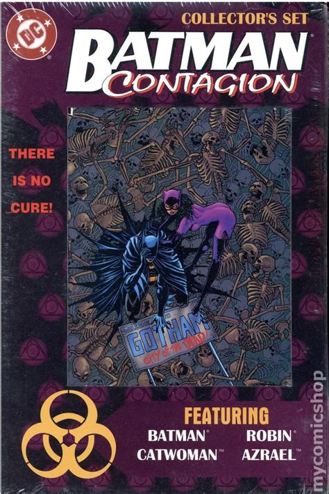 Batman Contagion batman contagion collectors set 1996 comic books