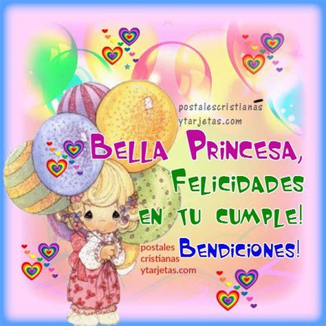 imagenes de happy birthday para hija tarjeta cumpleanos cristiano nina hija princesa jpg 600