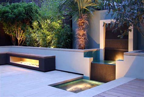 Modern Garden Waterfall by Garden Design By Amir Schlezinger