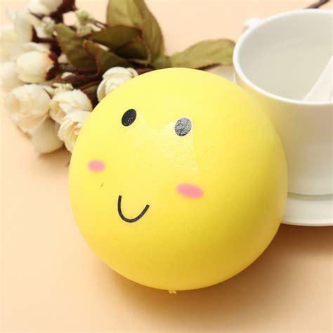 Pear Squishy By Giggle Bread giggle bread squishy jumbo yellow emoji bun bread 9cm