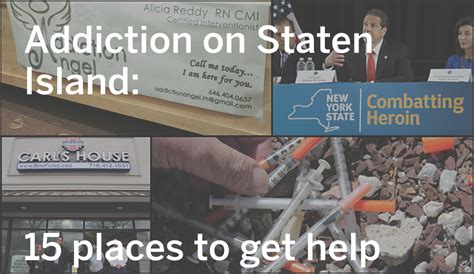 Detox From Drugs On Island by Addiction On Staten Island 15 Places To Get Help