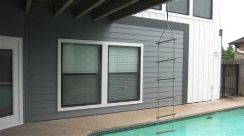 Colonial Smooth Hardie Siding - hardie quot board batten quot smooth finish siding