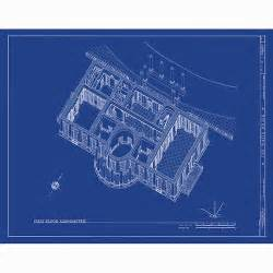 blue prints house white house blueprint from oldblueprints flickr