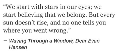 dear evan hansen through the window books waving through a window theatre dear evan