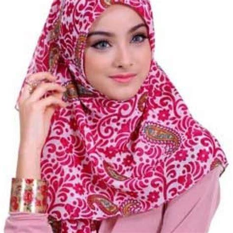 Motif Jilbab 5 Model Jilbab Yang Harus Kamu Punya Aneka Cara Memakai