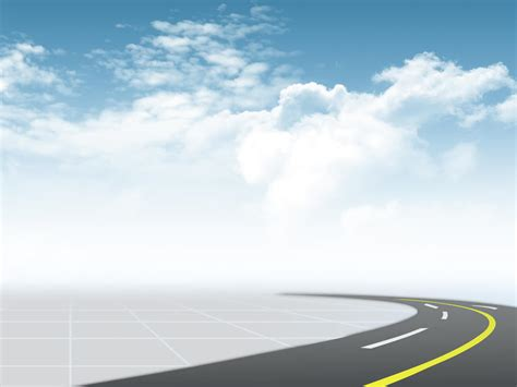 transportation road background background powerpoint