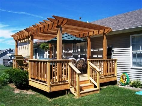 Building A Pergola On A Patio by How To Build A Freestanding Pergola On A Deck Pergola