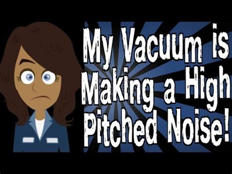 high pitch sound for dogs my vacuum is a high pitched noise doovi
