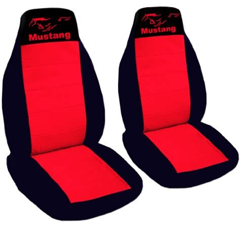 custom fit 1990 mustang gt seat covers front set of seat