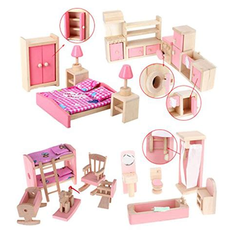 cheap doll house furniture popular wooden dollhouse furniture sets buy cheap wooden dollhouse furniture sets lots