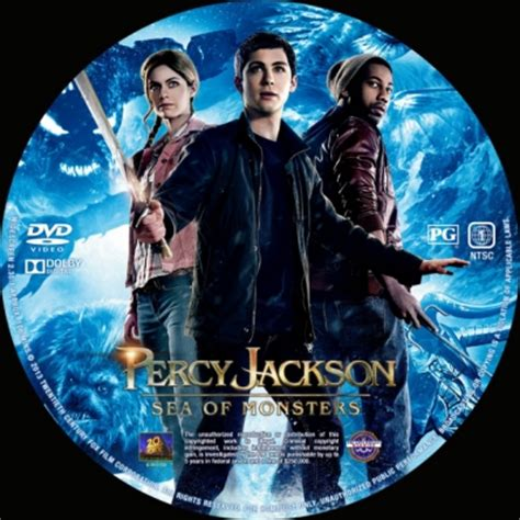The Sea Of Monsters Cover 8 Th Anniversary Percy J Oleh Rick R percy jackson sea of monsters dvd covers labels by covercity