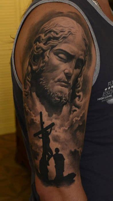 tattoo de jesus cristo em 3d portal tattoo tatuagem de jesus cristo feita pelo artista