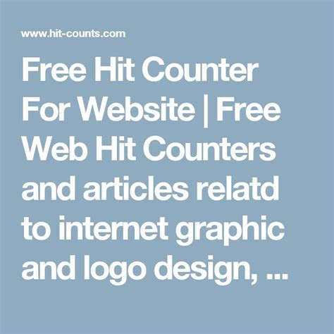 free logo design without registration website hit counter のおすすめアイデア 25 件以上 pinterest シャーロック
