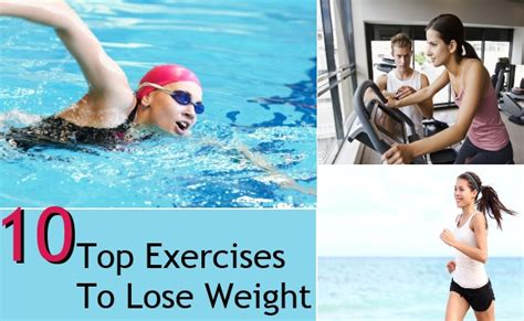 10 Top Exercises To Lose Weight by 10 Top Exercises To Lose Weight Style Presso