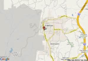 map of fallbrook country inn fallbrook