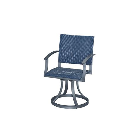motion patio chairs home styles gray all weather wicker motion patio dining