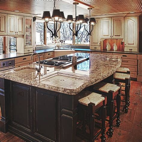 Kitchen Island Cooktop by Island Cooktop Kitchen Search Remodel Ideas In