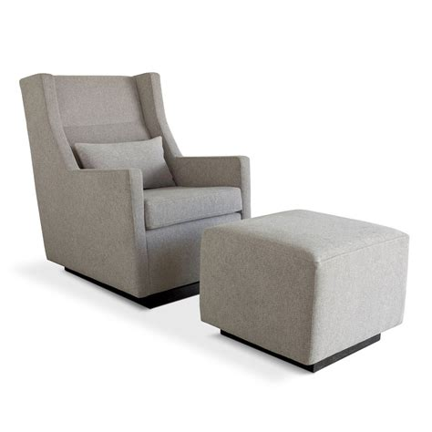Gus Modern Sparrow Glider Ottoman Grid Furnishings Glider Chairs And Ottomans
