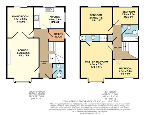 cardiff residence floor plan castle rise cardiff cf3 4 bedroom detached house for