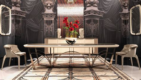 Art Deco Dining Room Furniture new furniture collection from visionnaire