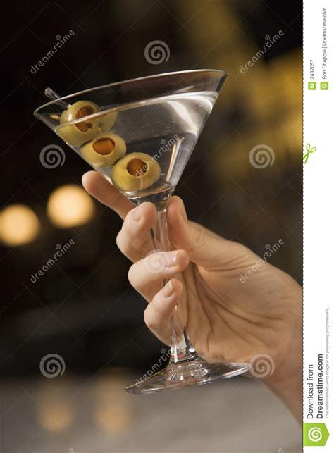 holding martini holding martini stock image image of image