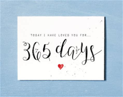 Gift To Husband 365 Days Of by Anniversary Card Card Instant Printable
