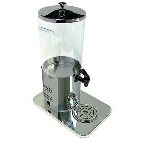 Juicer Dispenser update ejd 13ss 1 3 gal electric juice dispenser poly stainless