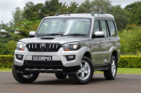 indian car mahindra scorpio photo gallery autocar india