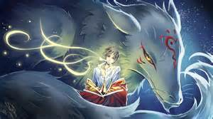 Natsume yuujinchou spirit creature fox art wallpaper
