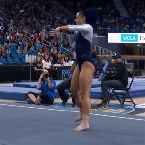 10 year gymnast floor routine gymnastics popsugar australia