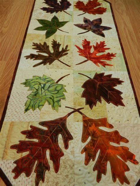 fall table runner 108 fall leaf table runner quilted batik leaf table runner 14
