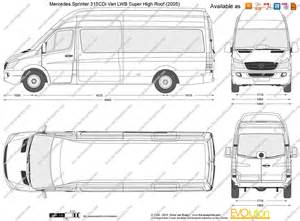 Mercedes Sprinter Height Mercedes Sprinter 315 Cdi Lwb Dimensions Crafts