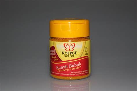 Bubuk Kunyit Turmeric Powder 50 Gram Koepoe Koepoe Herbs And Spices Kunyit Bubuk 25 Gram