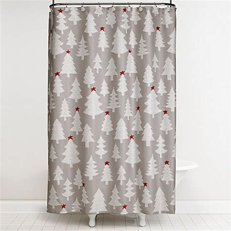 winter shower curtain winter wonderland 70 inch x 72 inch shower curtain and