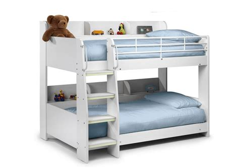 All Bunk Beds Domino Bunk Bed All White Race Furniture Middlesbrough