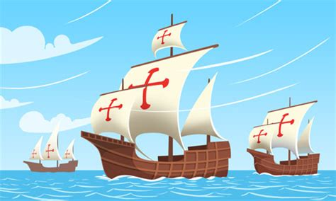 three boats christopher columbus sailed columbus day hmh in the news