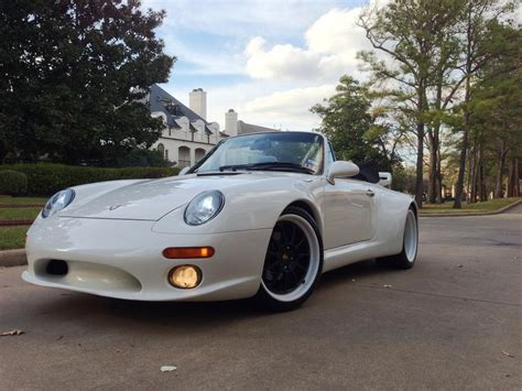 widebody porsche 993 1995 993 c2 cab strosek widebody rare rennlist