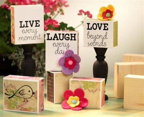 acrylic paint on wood crafts sentiment blocks 171 bennion crafts frame