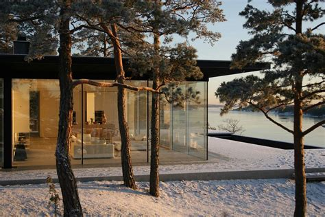 Modern Lake House In Sweden Stunning Lake House In Sweden