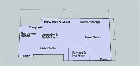 Most Efficient Floor Plans by Woodshop Layout Tour And Tips From Matt S Basement Workshop
