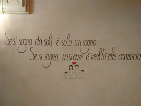 scritte per pareti decorazioni per la casa