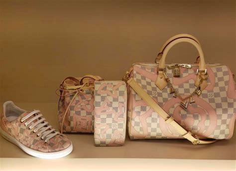 Louis Vuitton Shoe Bag by Louis Vuitton Damier Azur Tahitiennes Collection Spotted