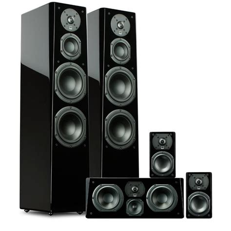 svs prime tower surround sound system home theater speakers