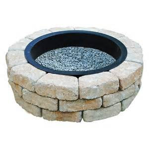 Lowes Firepit Kit Oldcastle Beltis Pit Kit Lowe S Canada