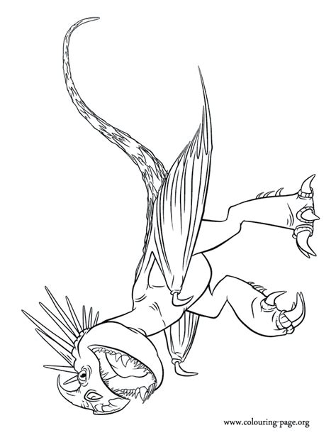 baby deadly nadder coloring pages coloring pages
