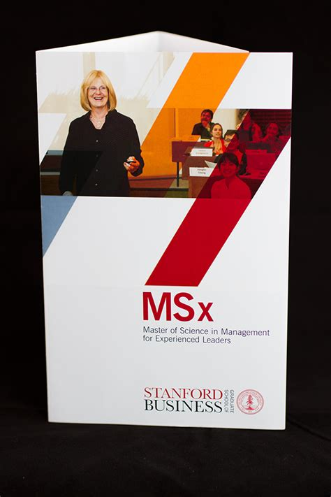 Stanford Msx And Mba by Stanford Msx Brochure On Behance