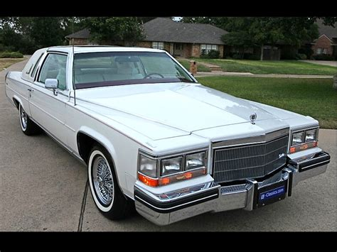 1985 cadillac coupe 1985 cadillac fleetwood brougham coupe d elegance