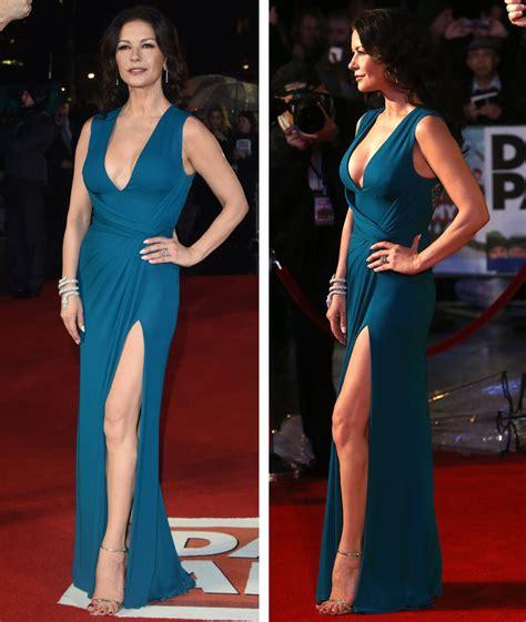 Wardrobe Dress by Catherine Zeta Jones Narrowly Avoids Wardrobe